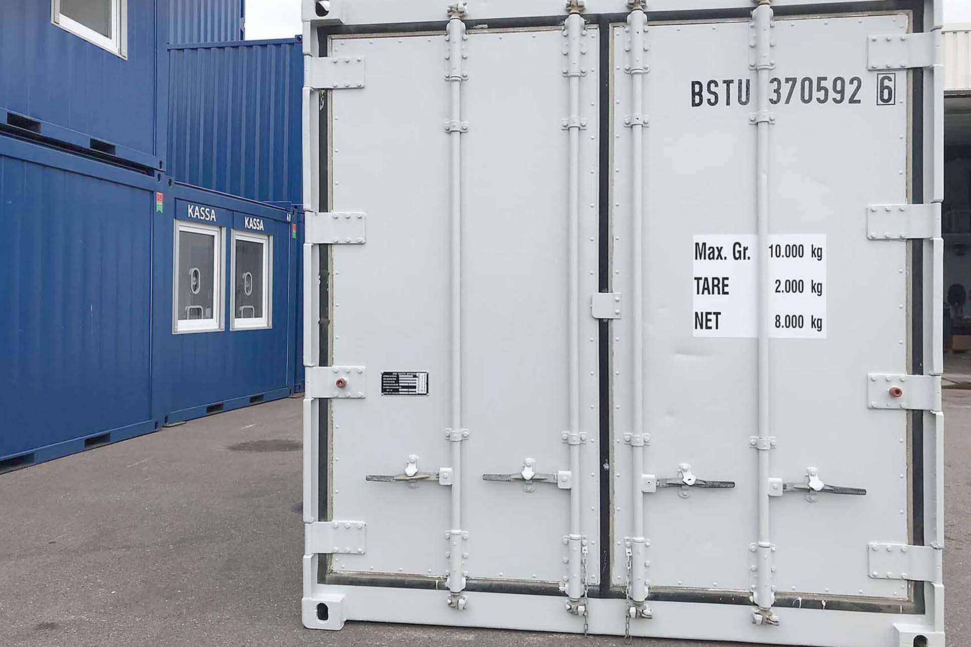 10ft koelcontainer van Carrier front