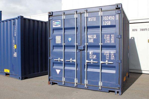 10ft Zeecontainer front