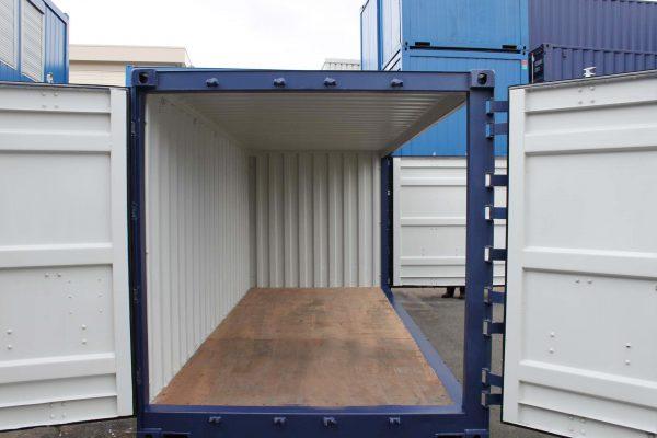 20 ft Zeecontainer Open-Side linker zijde