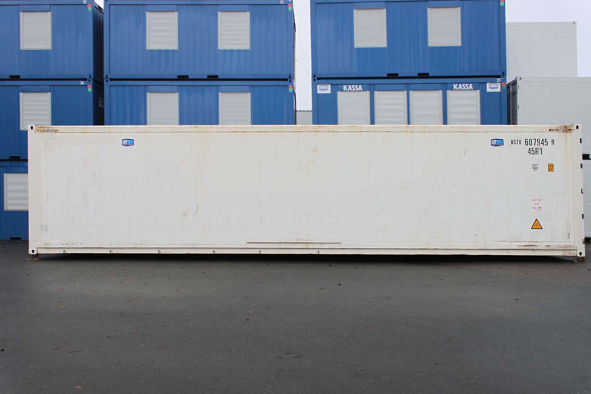 40 ft Koelcontainer zijkant