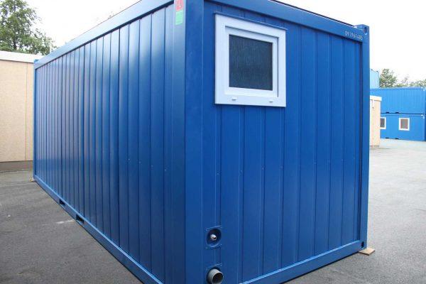 20ft Unit met toilet korte zijde