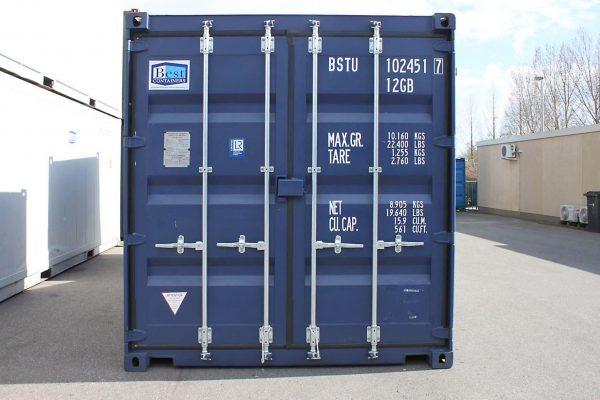 10ft Zeecontainer front 2