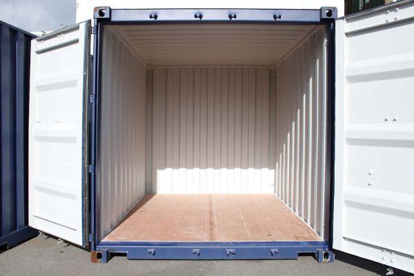 10ft Zeecontainer deuren open