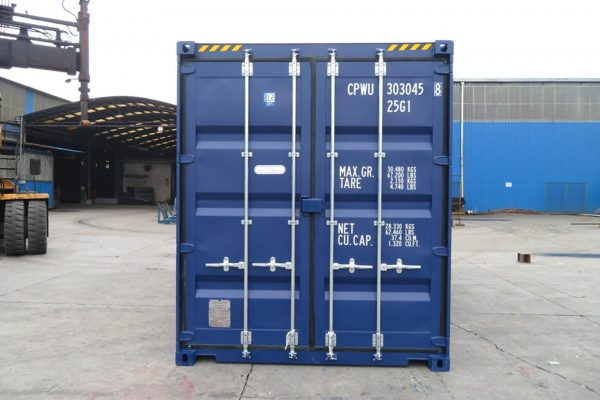 20ft Zeecontainer highcube front