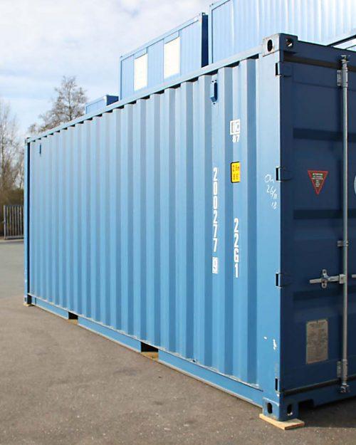 20ft Zeecontainer front links