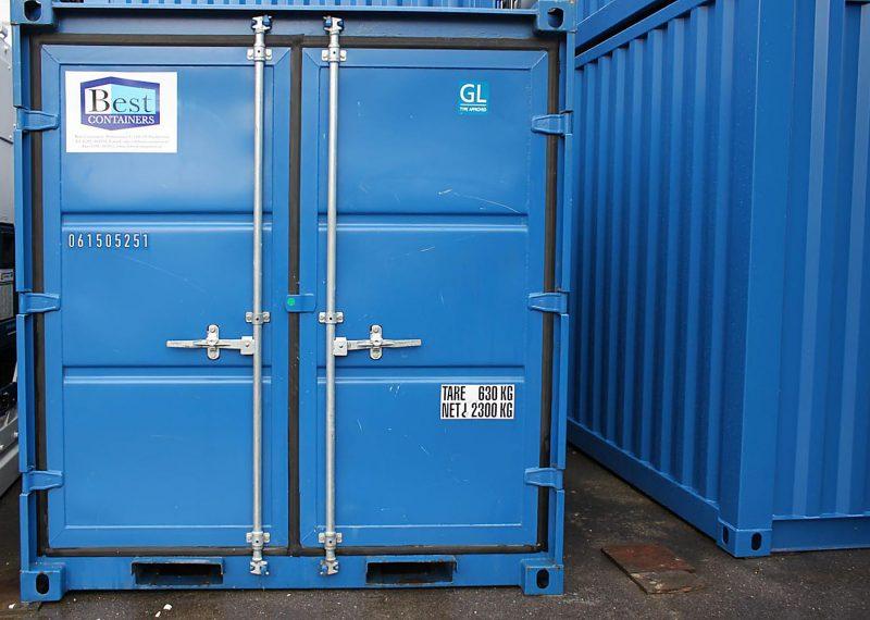 Gebruikte 8ft opslag container