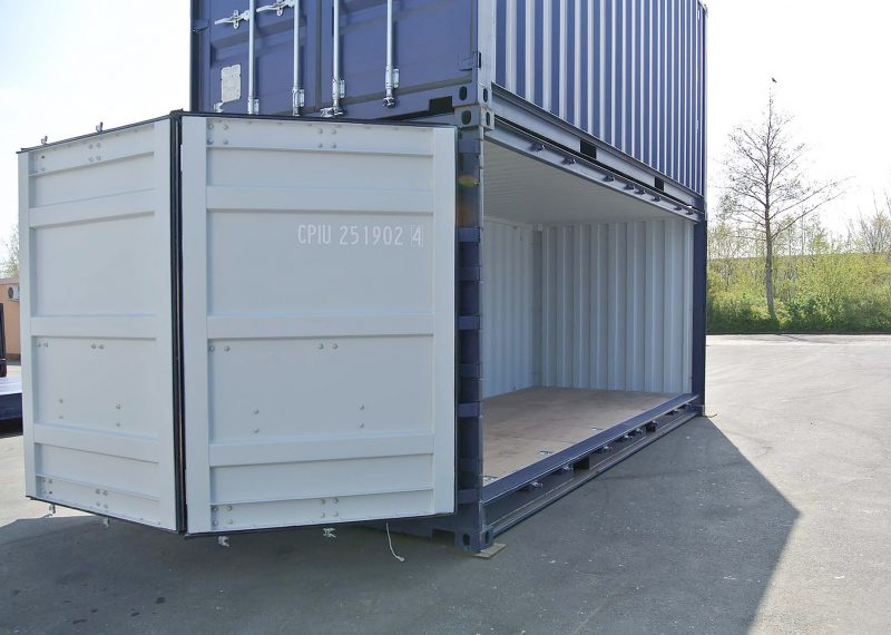 Open side container 20ft