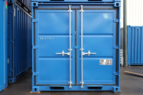 8ft Opslagcontainer front